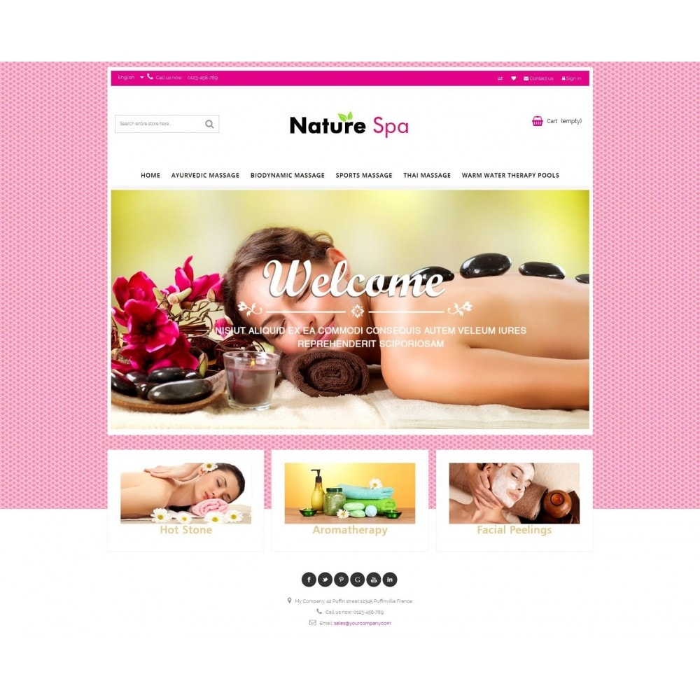 theme - Salute & Bellezza - Natural Spa Elegant - 7