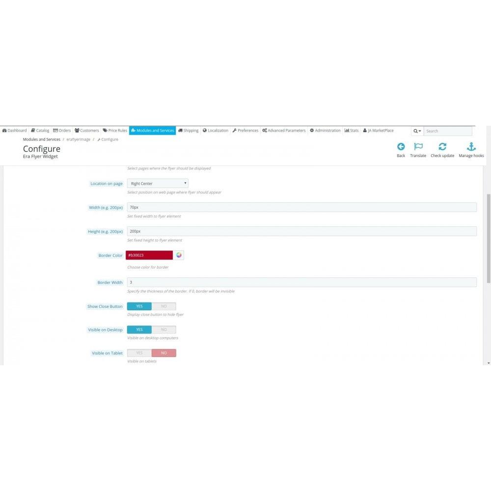 module - Personalizacja strony - Era Flyer Widget - 3