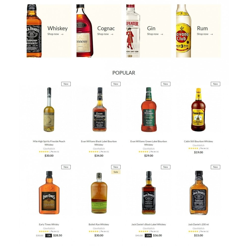 theme - Drank & Tabak - Liquor Shop - 3