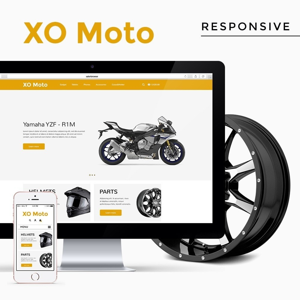 theme - Automotive & Cars - XO moto - 1