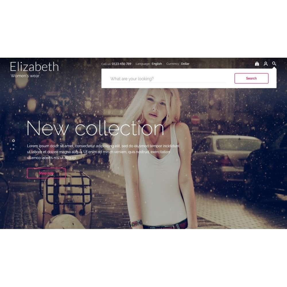 theme - Мода и обувь - Elizabeth Fashion Store - 9