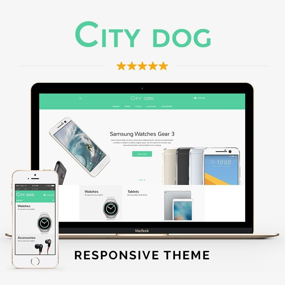 theme - Elettronica & High Tech - City Dog Store - 1