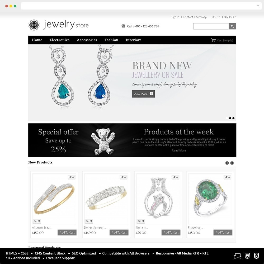 theme - Bellezza & Gioielli - Best Jewelry Online Store - 1