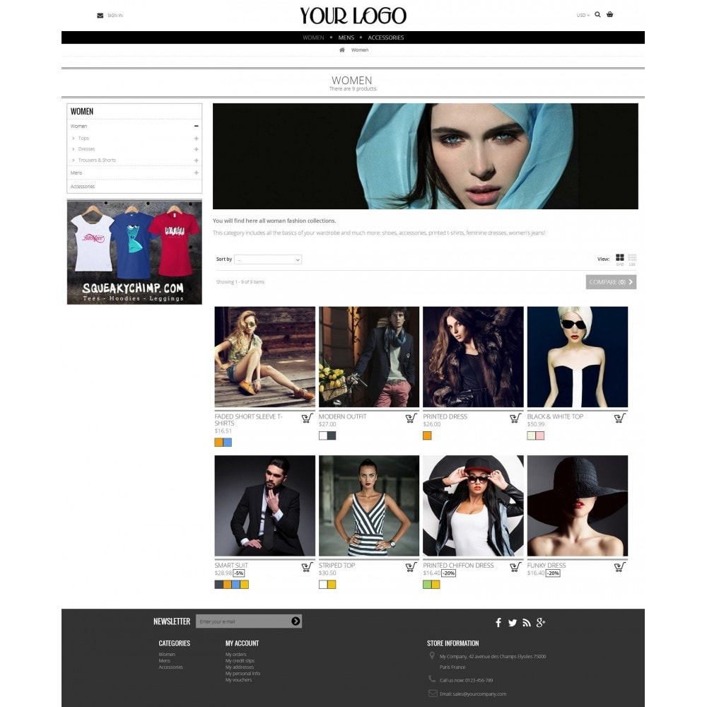 theme - Moda & Obuwie - Nimble Grid Theme - 4
