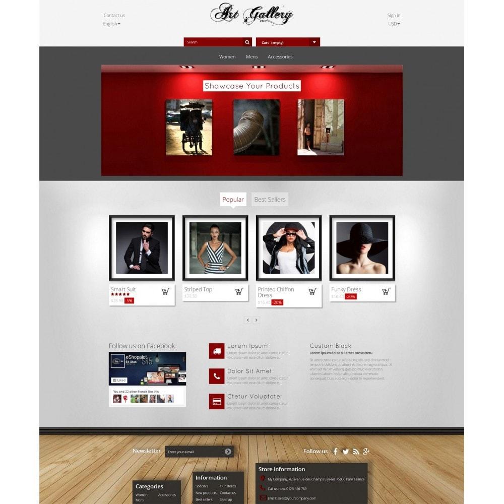 theme - Arte y Cultura - Art Gallery - Fotografía y Pintura - 2