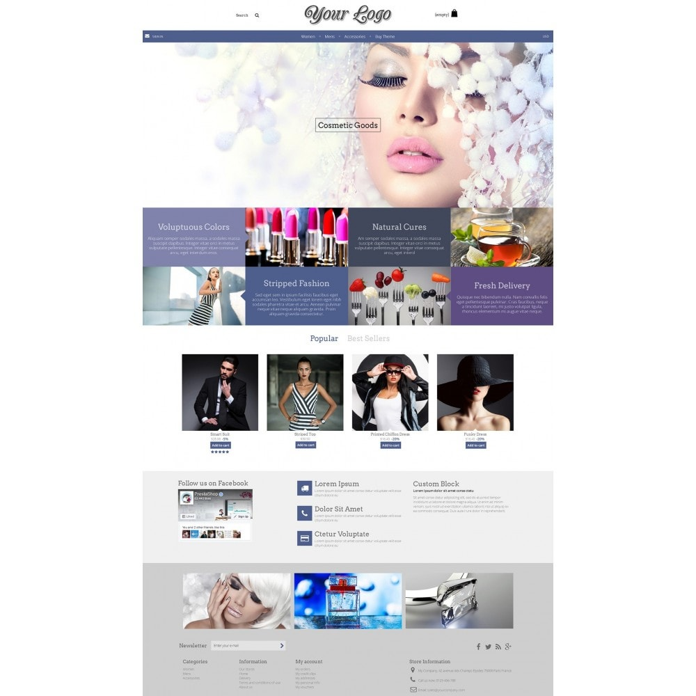 theme - Health & Beauty - Dashing Modern - 1