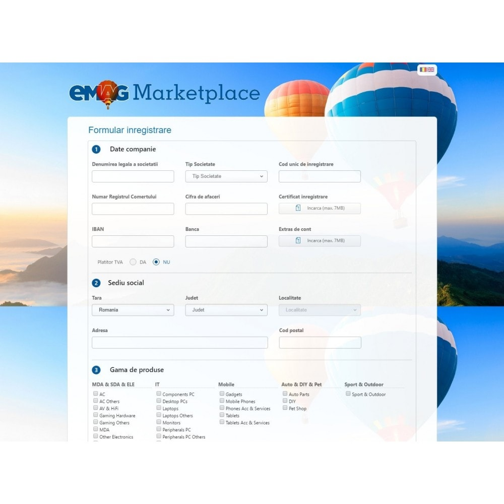 module - Revenda (marketplace) - eMAG Marketplace - 2