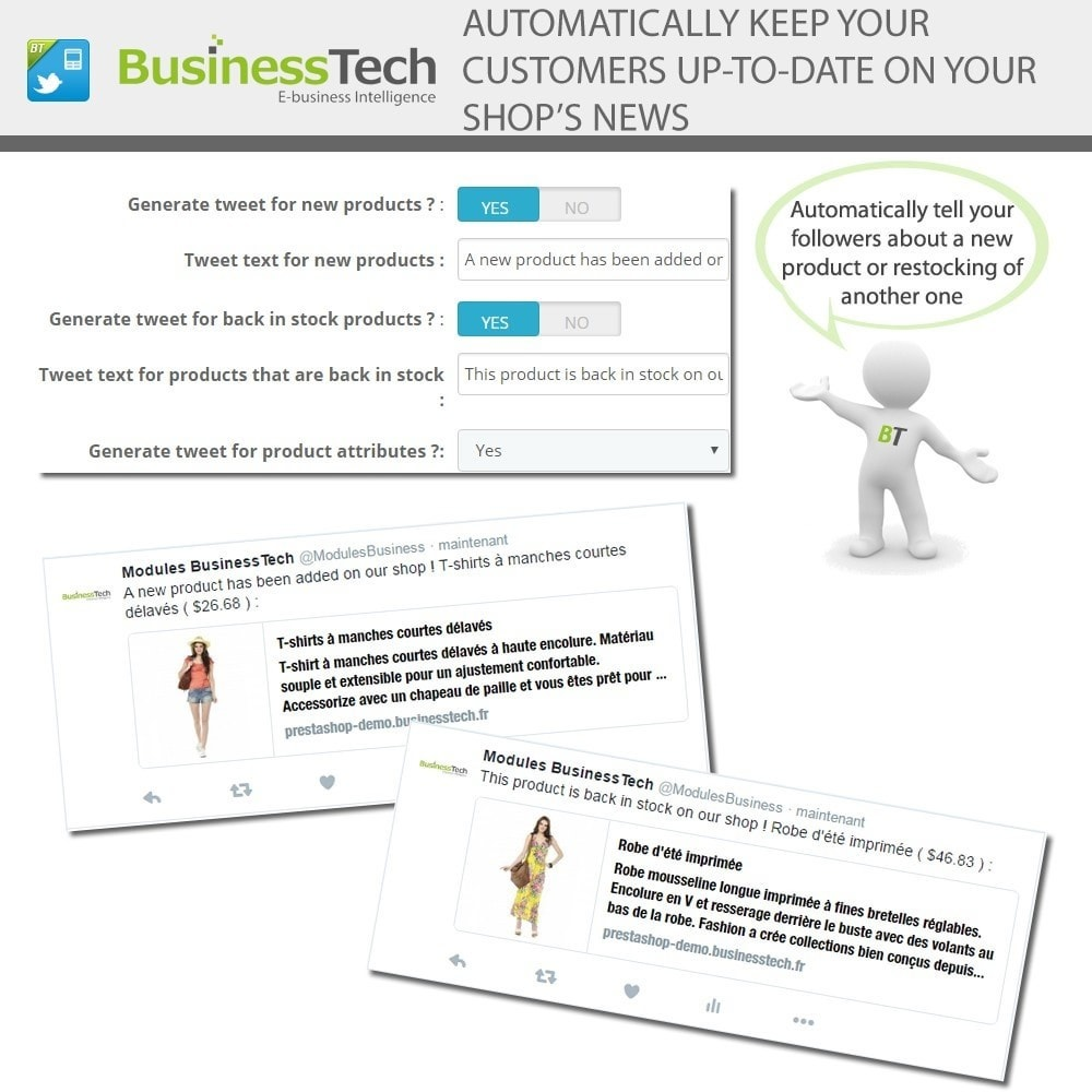 module - Products on Facebook & Social Networks - Twitter Cards + Automatic Product Tweets - 5