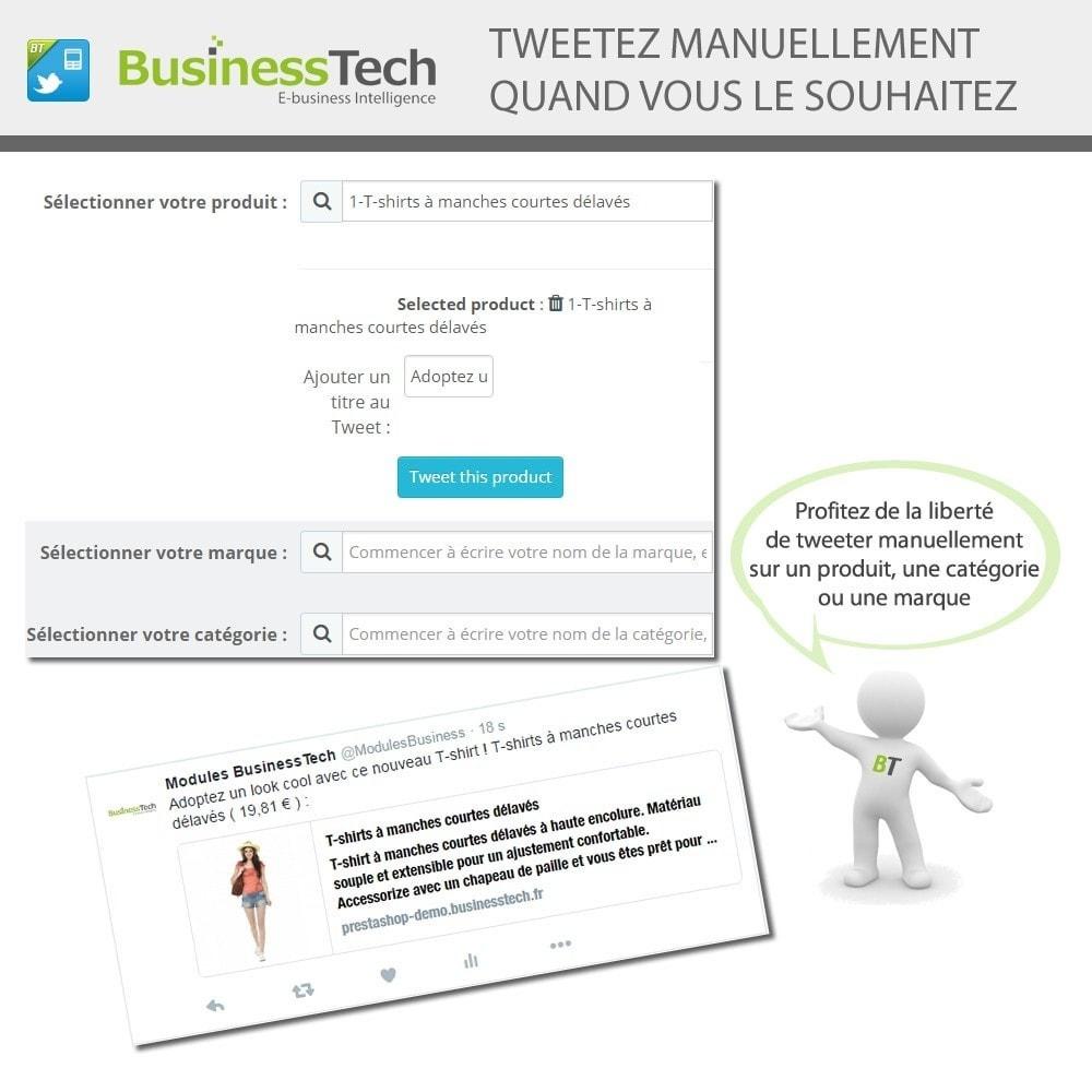 module - Produits sur Facebook & réseaux sociaux - Twitter Cards + Tweets de produits automatiques - 6