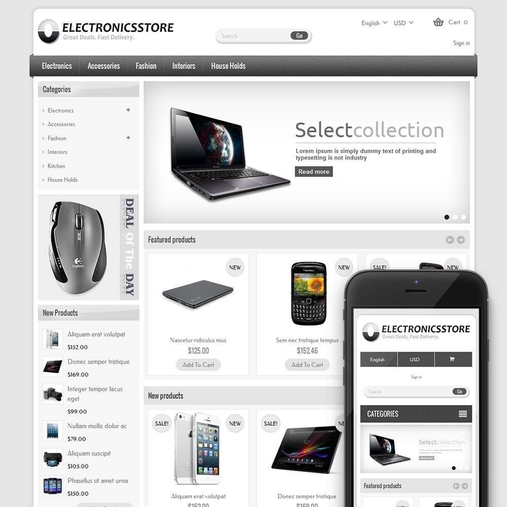 theme - Elettronica & High Tech - Vintage Electronics Store - 1