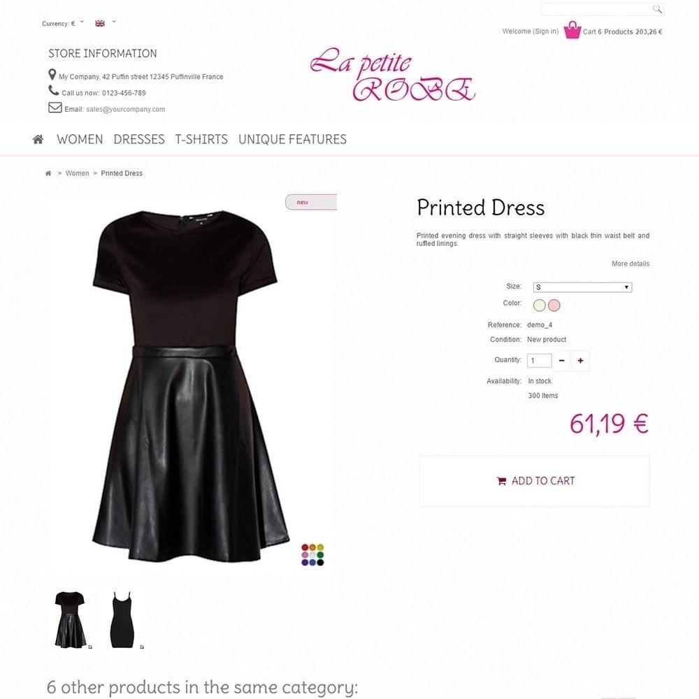 theme - Fashion & Shoes - La Petite Robe - 4