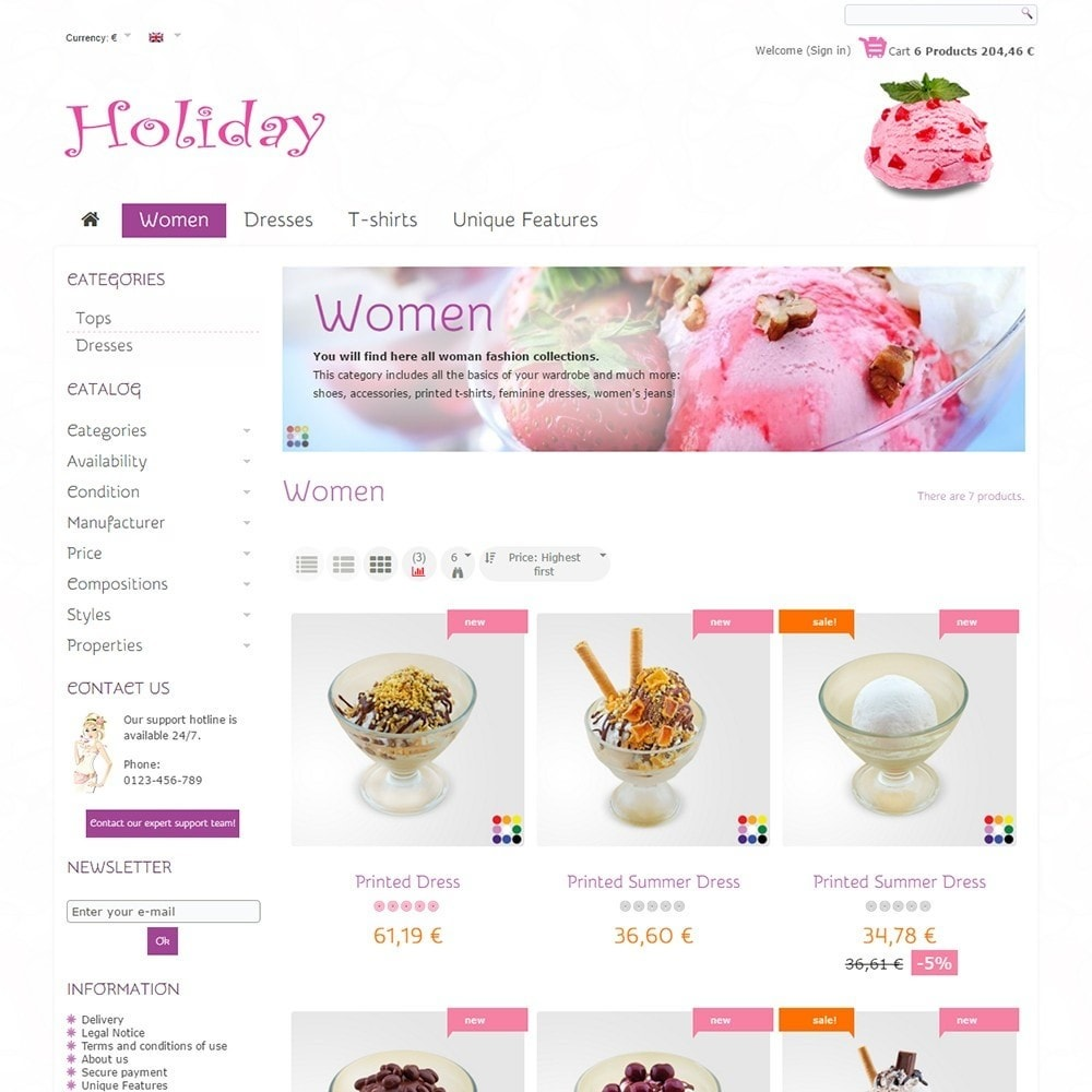 theme - Food & Restaurant - Holiday - 3