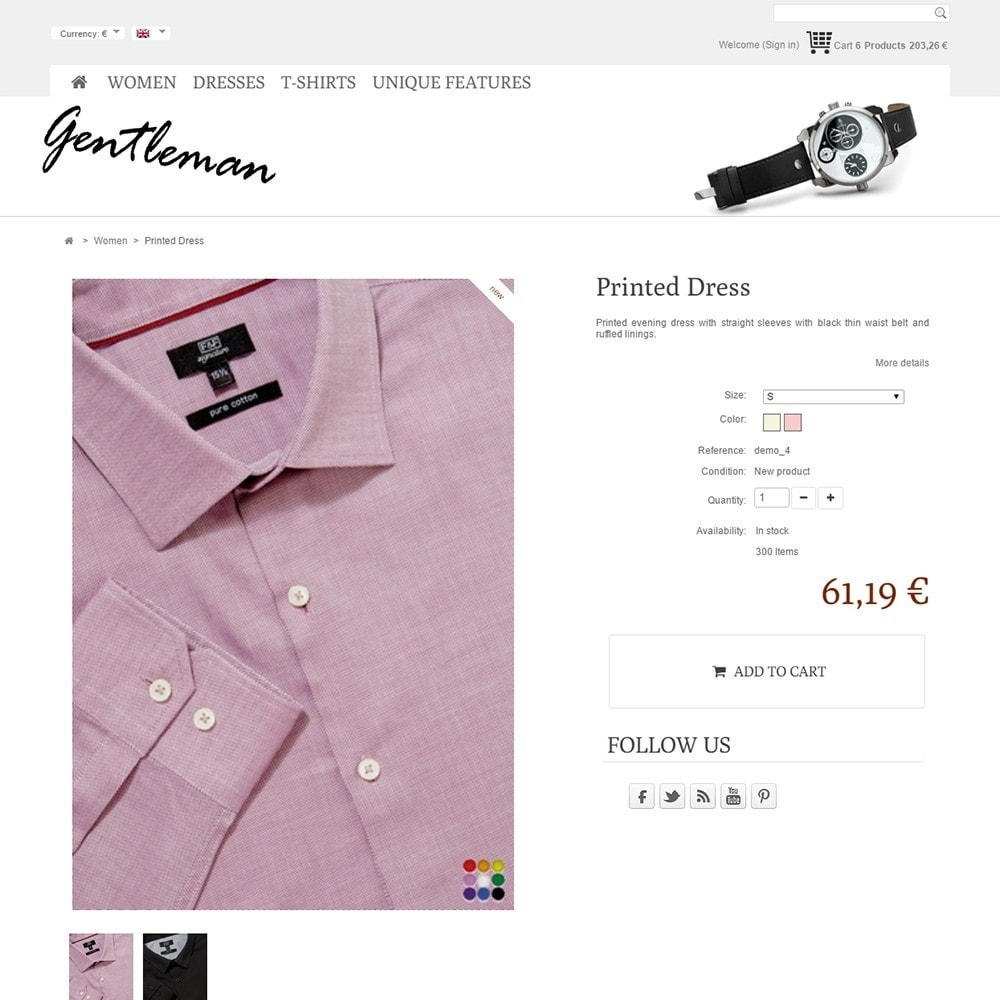 theme - Moda & Calzature - Gentleman - 4