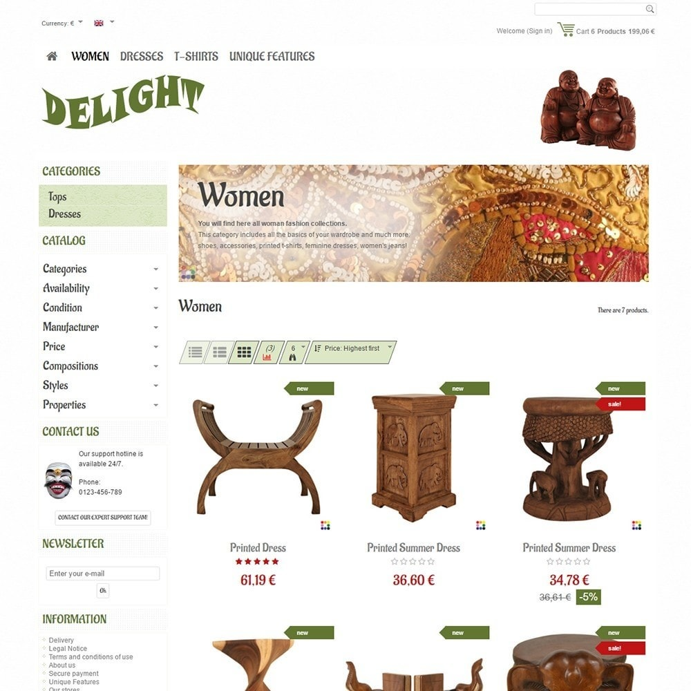 theme - Home & Garden - Delight - 3