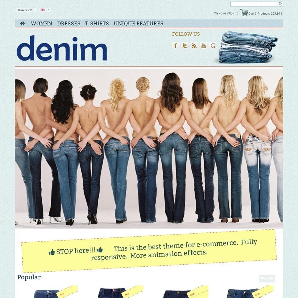 theme - Mode & Schoenen - Denim - 2