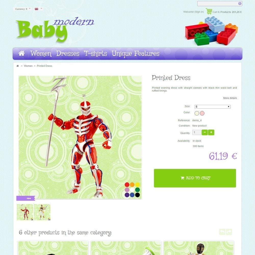 theme - Дети и Игрушки - Modern Baby - 4