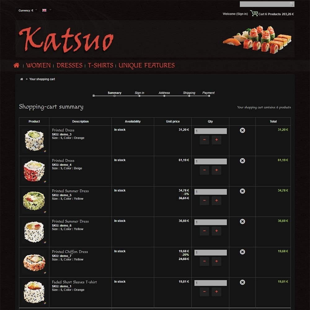 theme - Food & Restaurant - Katsuo - 6