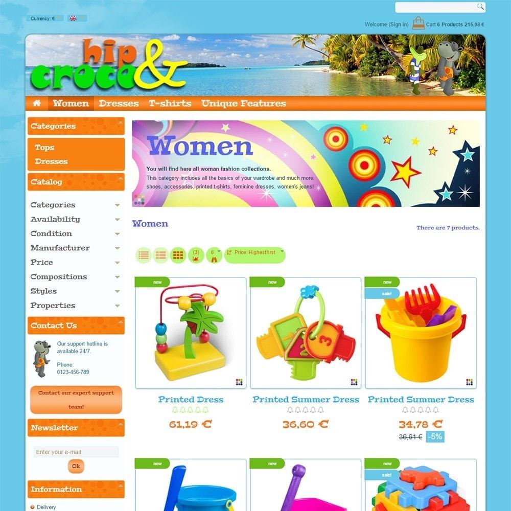 theme - Kids & Toys - Hip And Croco - 4