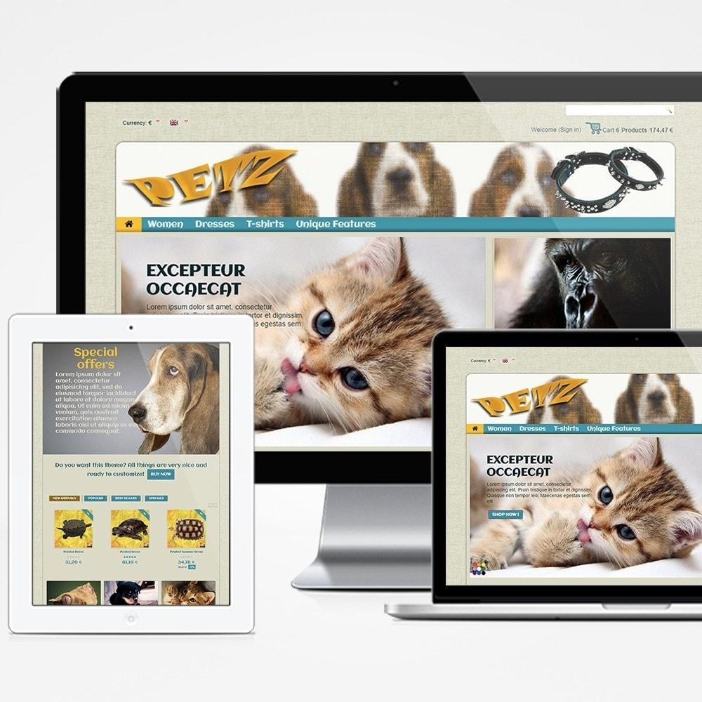 theme - Animales y Mascotas - Petz - 1