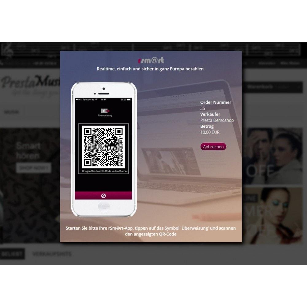 module - Zahlung per Kreditkarte oder Wallet - rSm@rt - Bezahlen mit dem Smartphone - 1