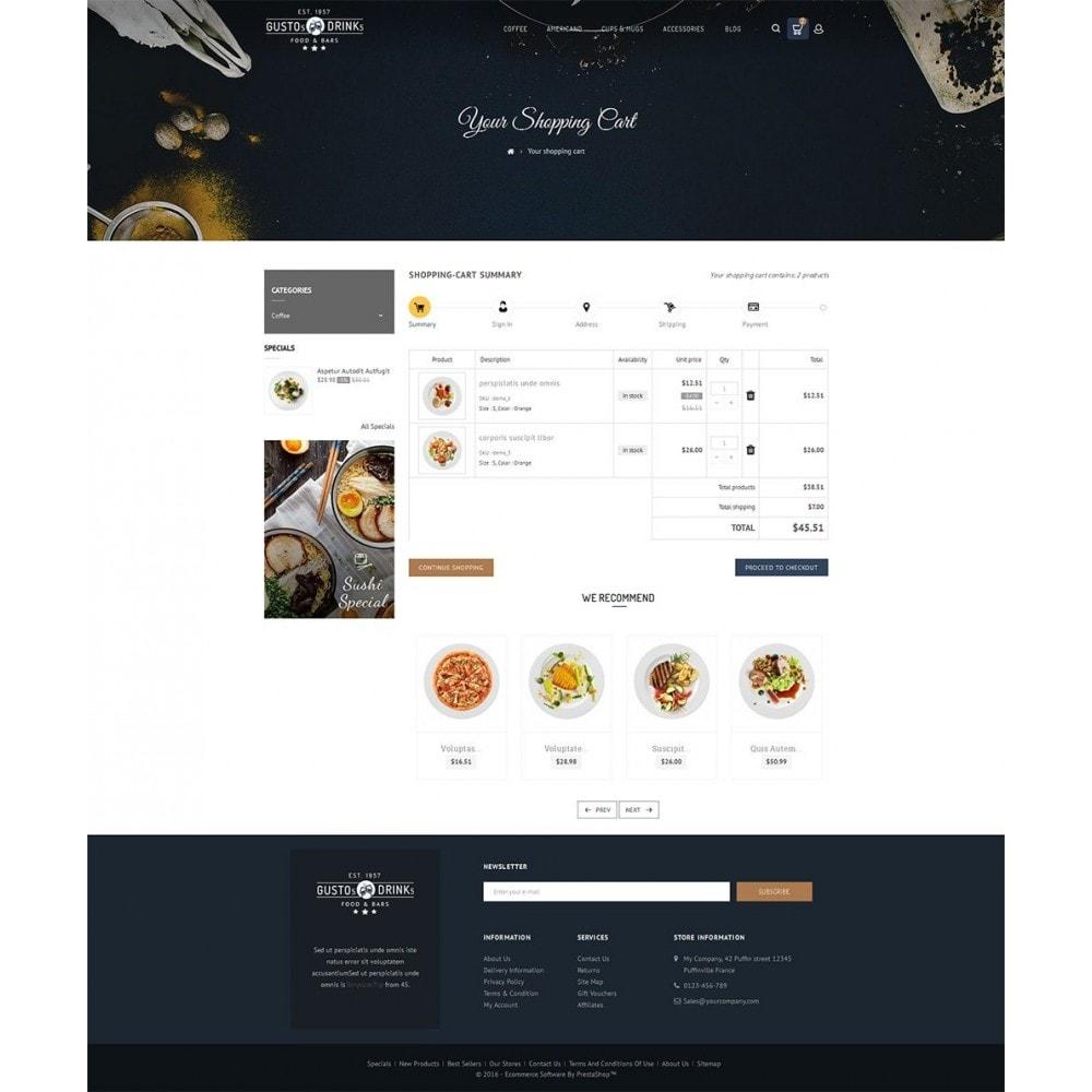 theme - Продовольствие и рестораны - Restaurant - 6