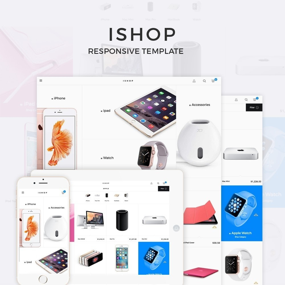 theme - Elektronica & High Tech - iShop - 1