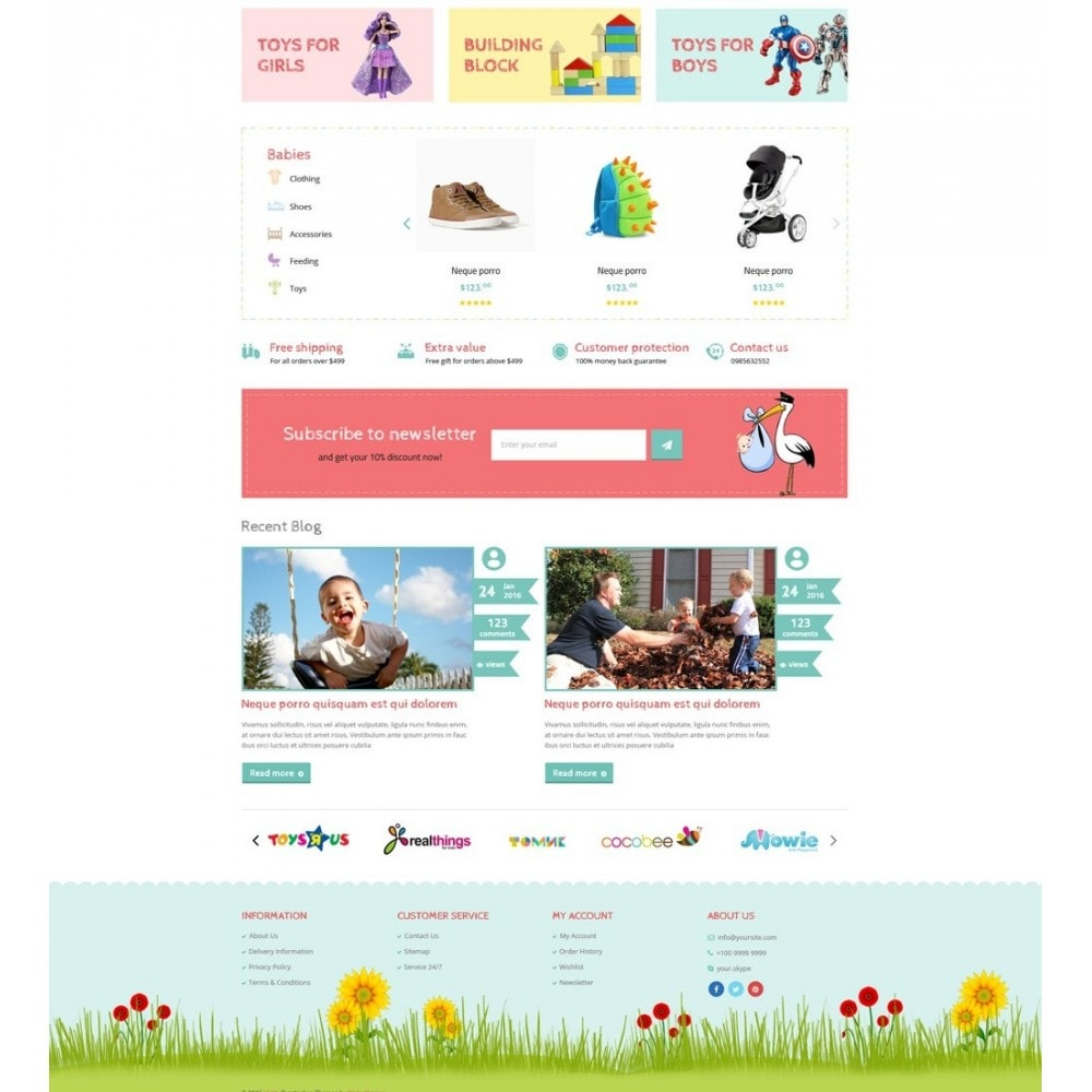 theme - Zabawki & Artykuły dziecięce - Babies & Kids - 3