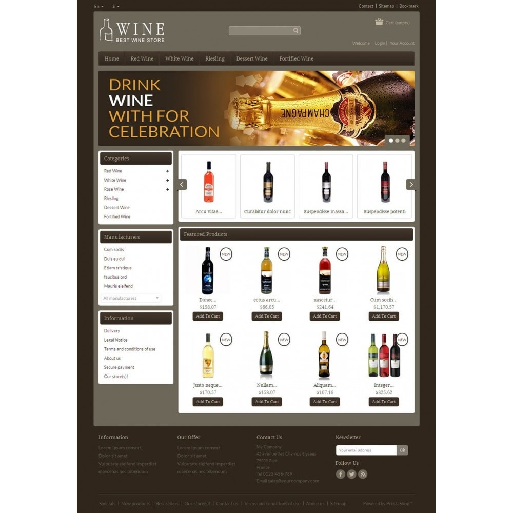 theme - Boissons & Tabac - Online Wine Shop - 2