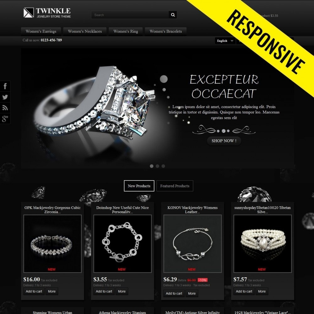theme - Jewelry & Accessories - Twinkle - 1
