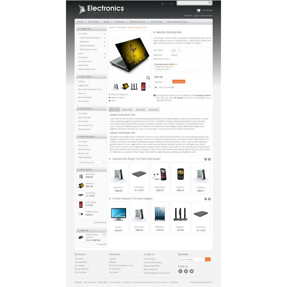 theme - Elektronica & High Tech - Electronics Mega Store - 4