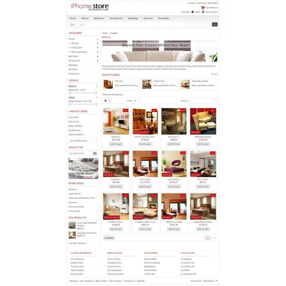 theme - Casa & Giardino - Home Furnitures Store - 3
