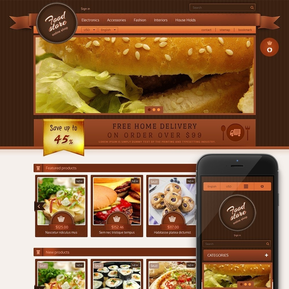 theme - Lebensmittel & Restaurants - Best Foods - 1