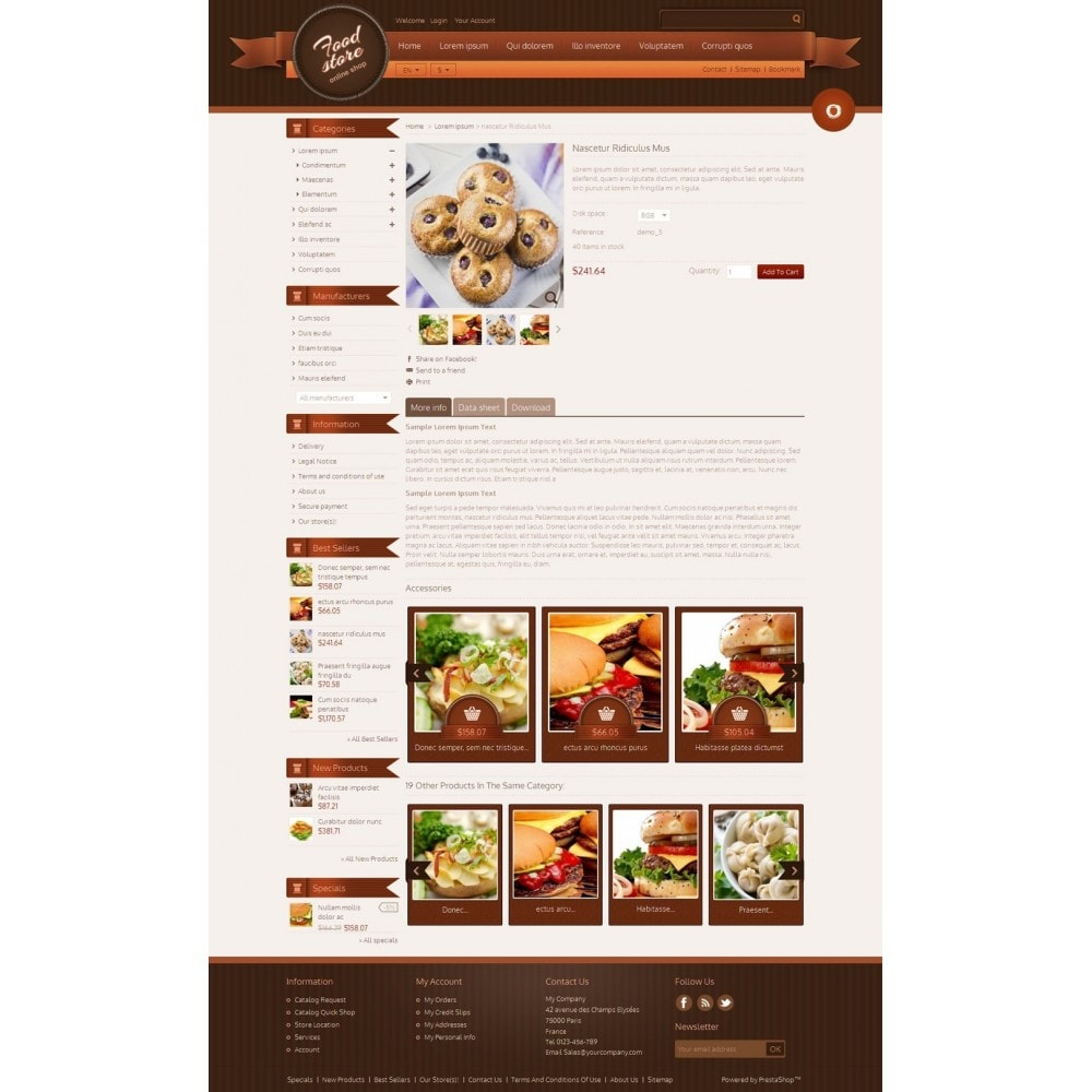 theme - Lebensmittel & Restaurants - Best Foods - 4
