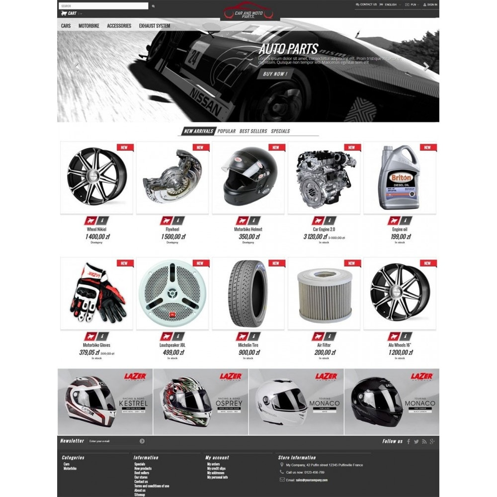 theme - Carros & Motos - Car and Moto Parts - 2