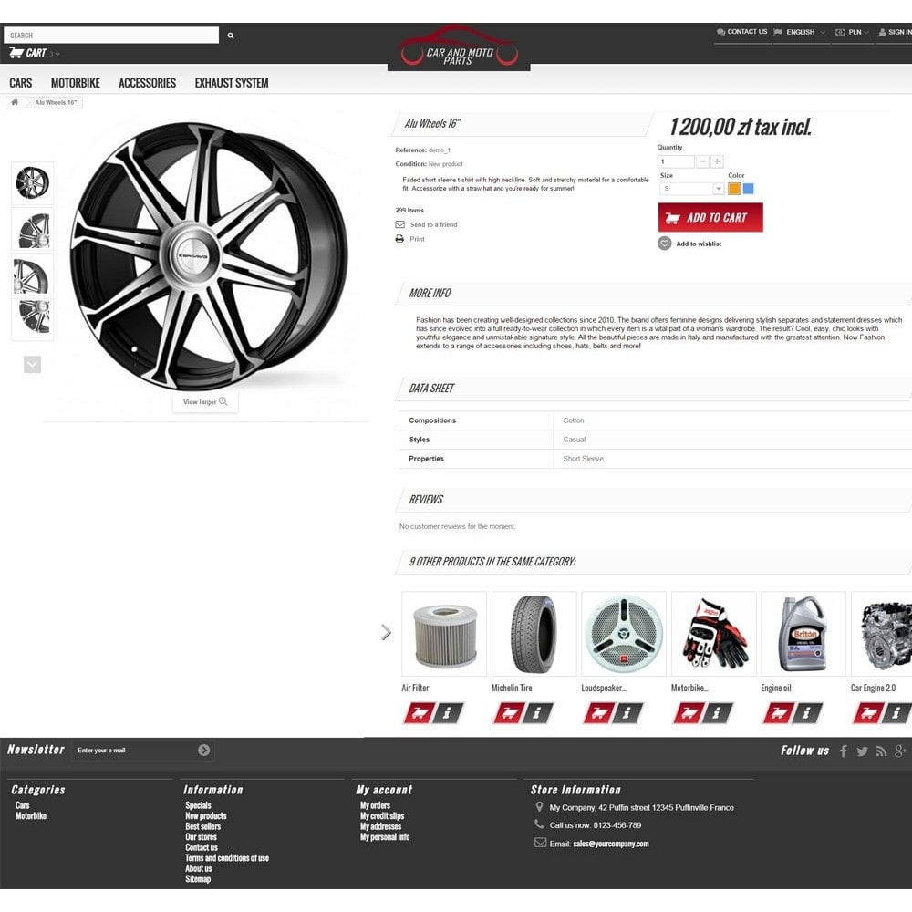 theme - Auto's & Motoren - Car and Moto Parts - 3