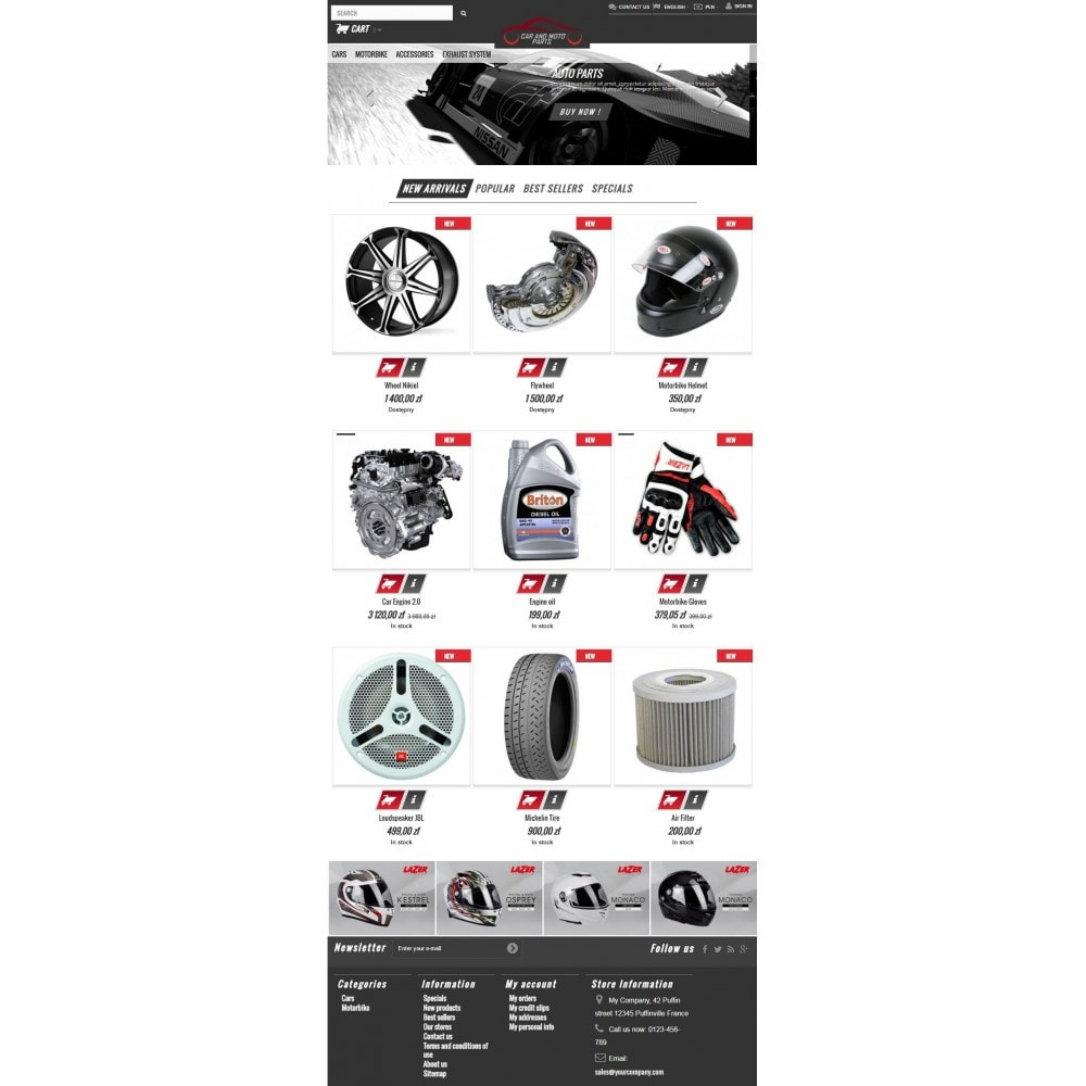 theme - Carros & Motos - Car and Moto Parts - 6