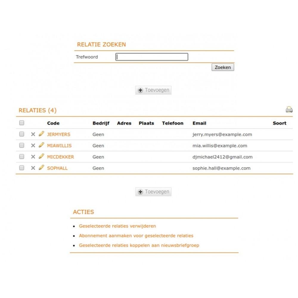 module - Contabilidad y Facturas - e-Boekhouden.nl - 9
