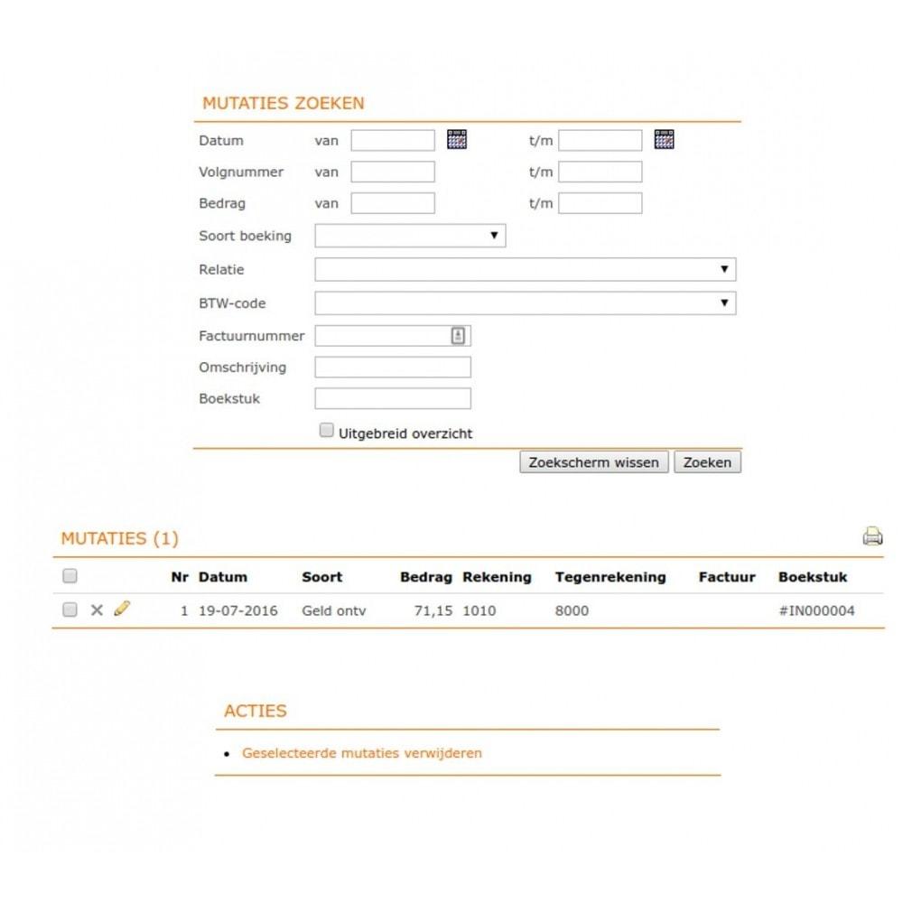 module - Contabilidade & Cobrança - Unofficial e-Boekhouden.nl module - 10