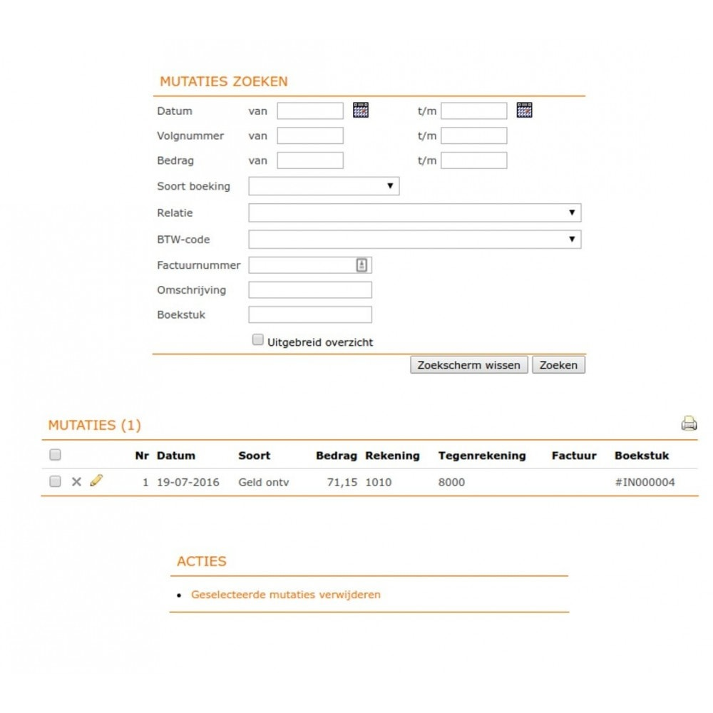 module - Boekhouding en fakturatie - e-Boekhouden.nl - 10