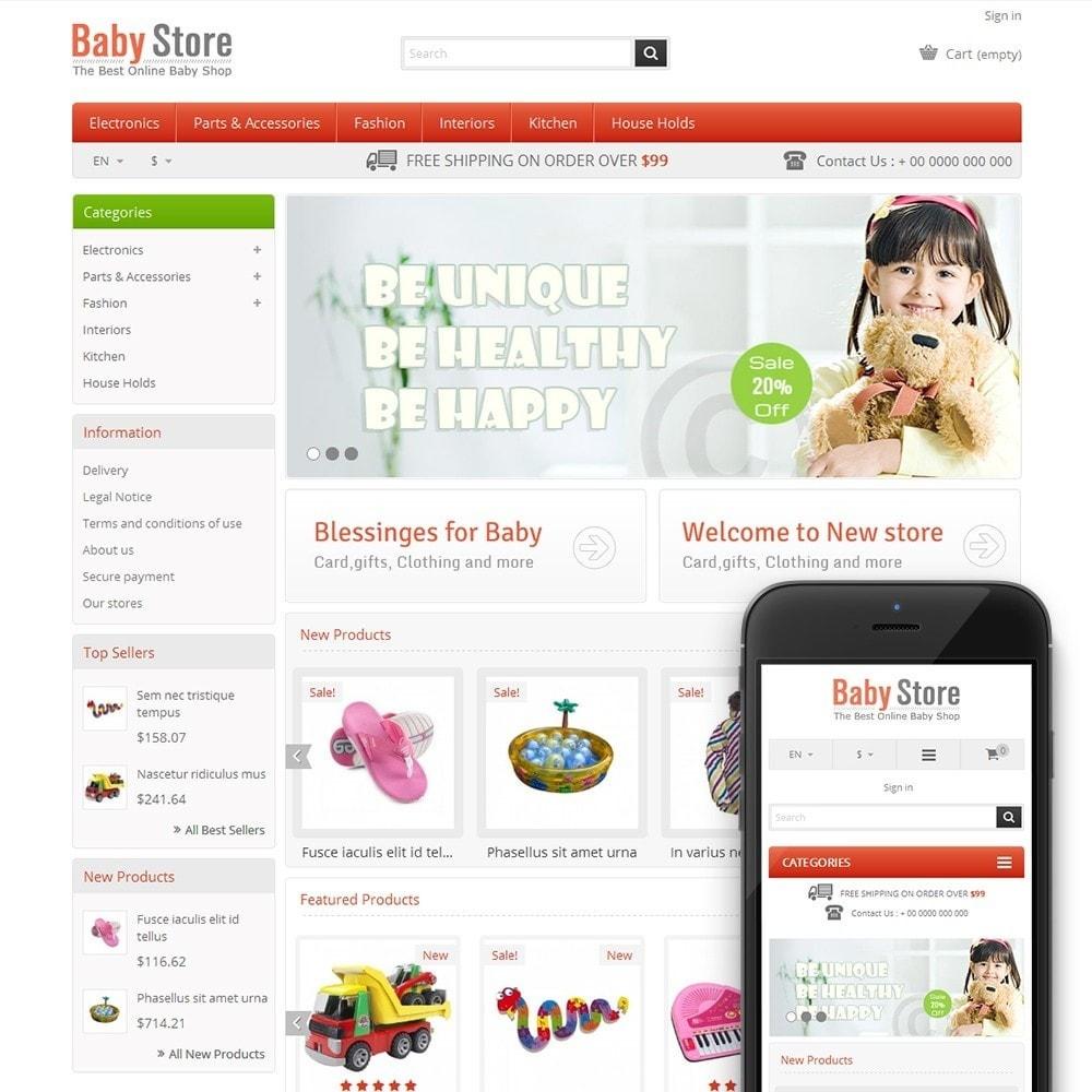 theme - Crianças & Brinquedos - Baby & Kids Store - 1