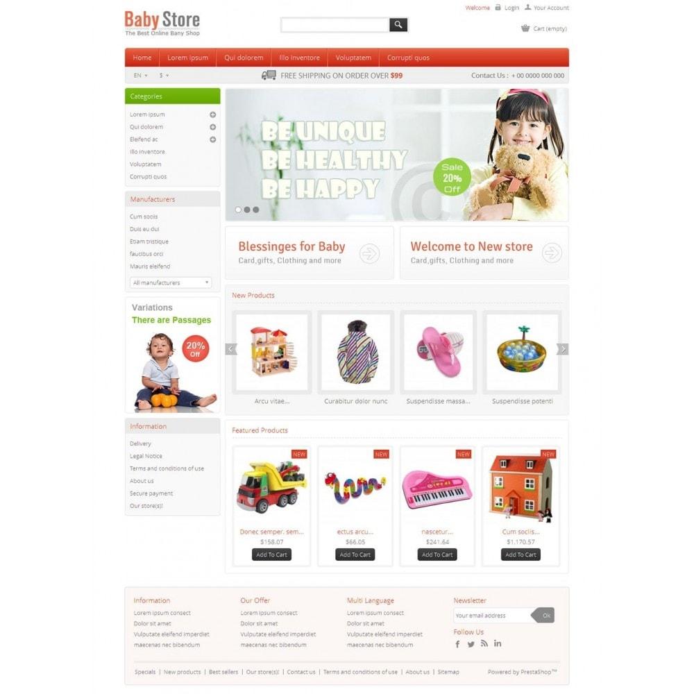 theme - Crianças & Brinquedos - Baby & Kids Store - 2