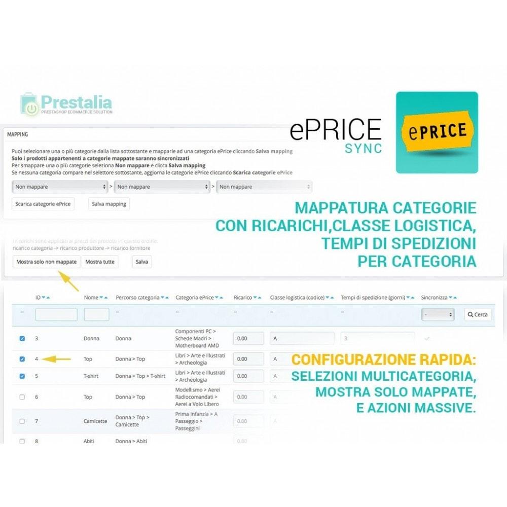 module - Marketplace - Sincronizza PrestaShop con il marketplace di ePrice - 3