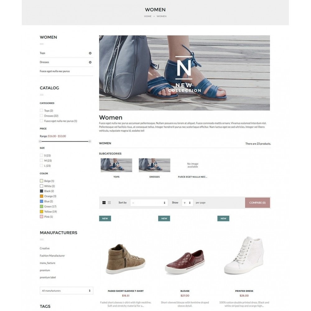 theme - Mode & Schoenen - Olantek Fashion & Shoes - 6