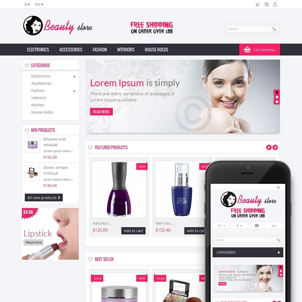 theme - Salute & Bellezza - Online Beauty Store - 1