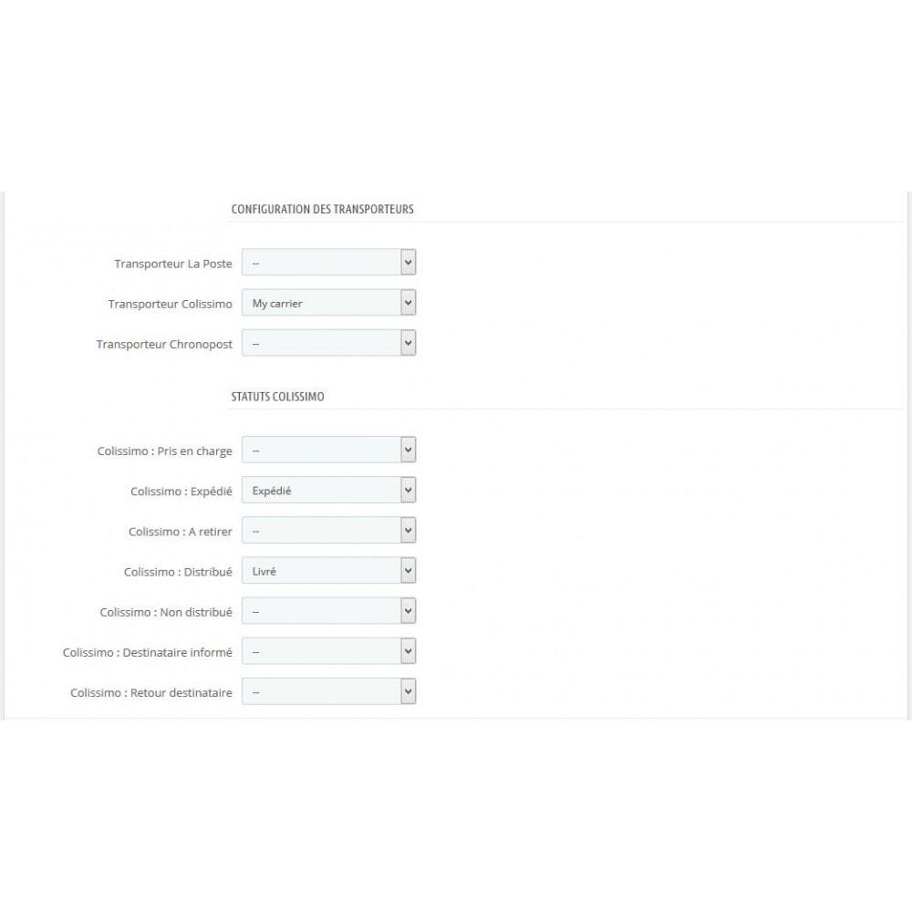 module - Suivi de livraison - Suivi de vos colis Colissimo, La Poste, Chronopost - 2
