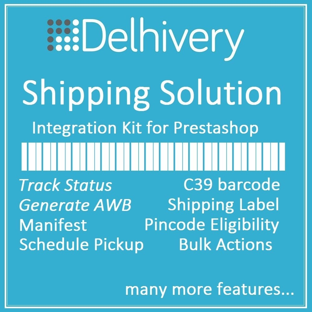 module - Sendungsverfolgung - Delhivery courier shipping and tracking solution - 1