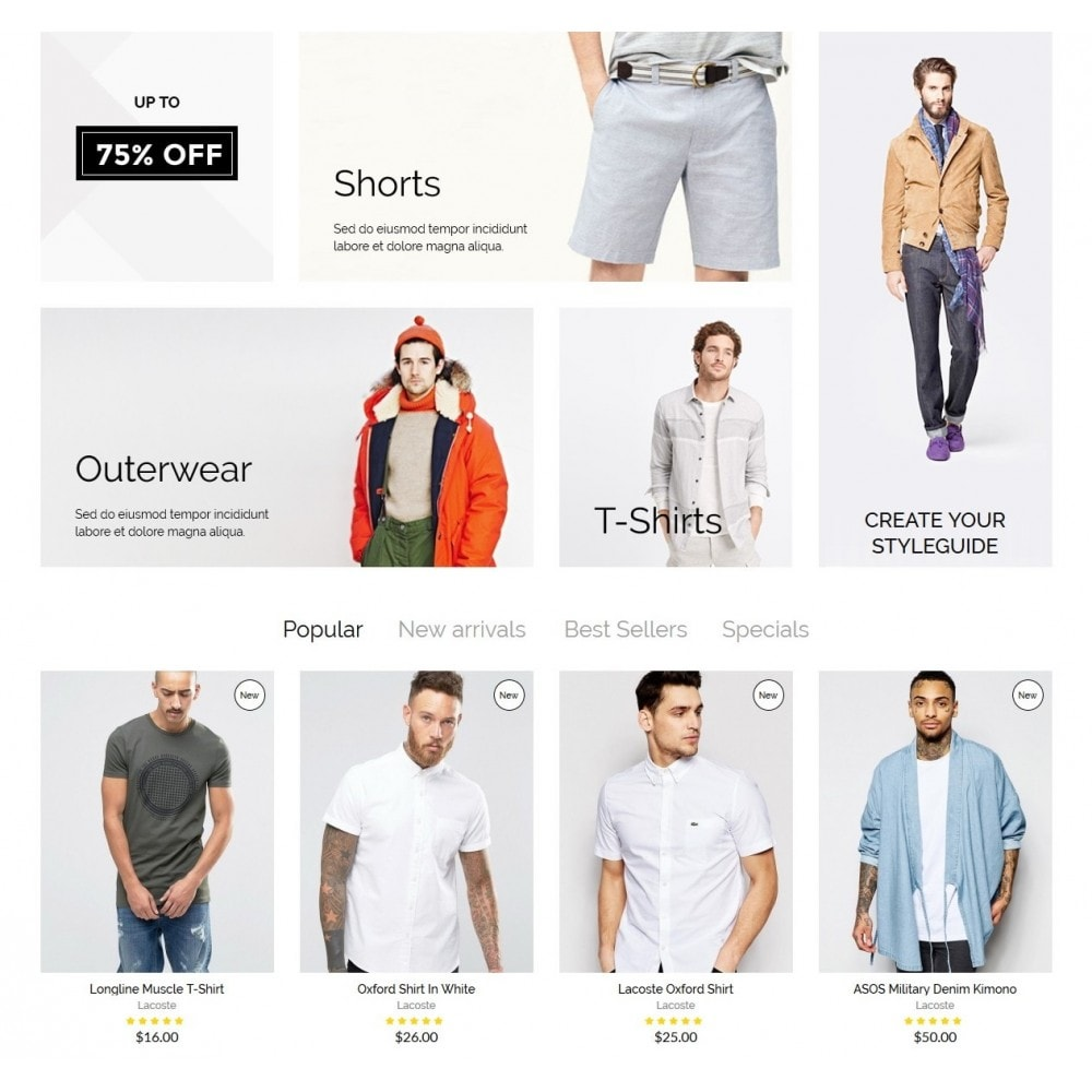 theme - Fashion & Shoes - McMurphy Men's Wear - 3