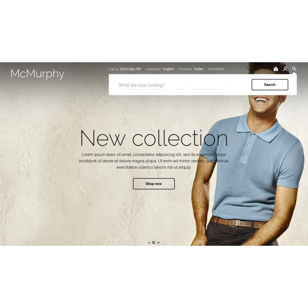 theme - Fashion & Shoes - McMurphy Men's Wear - 4