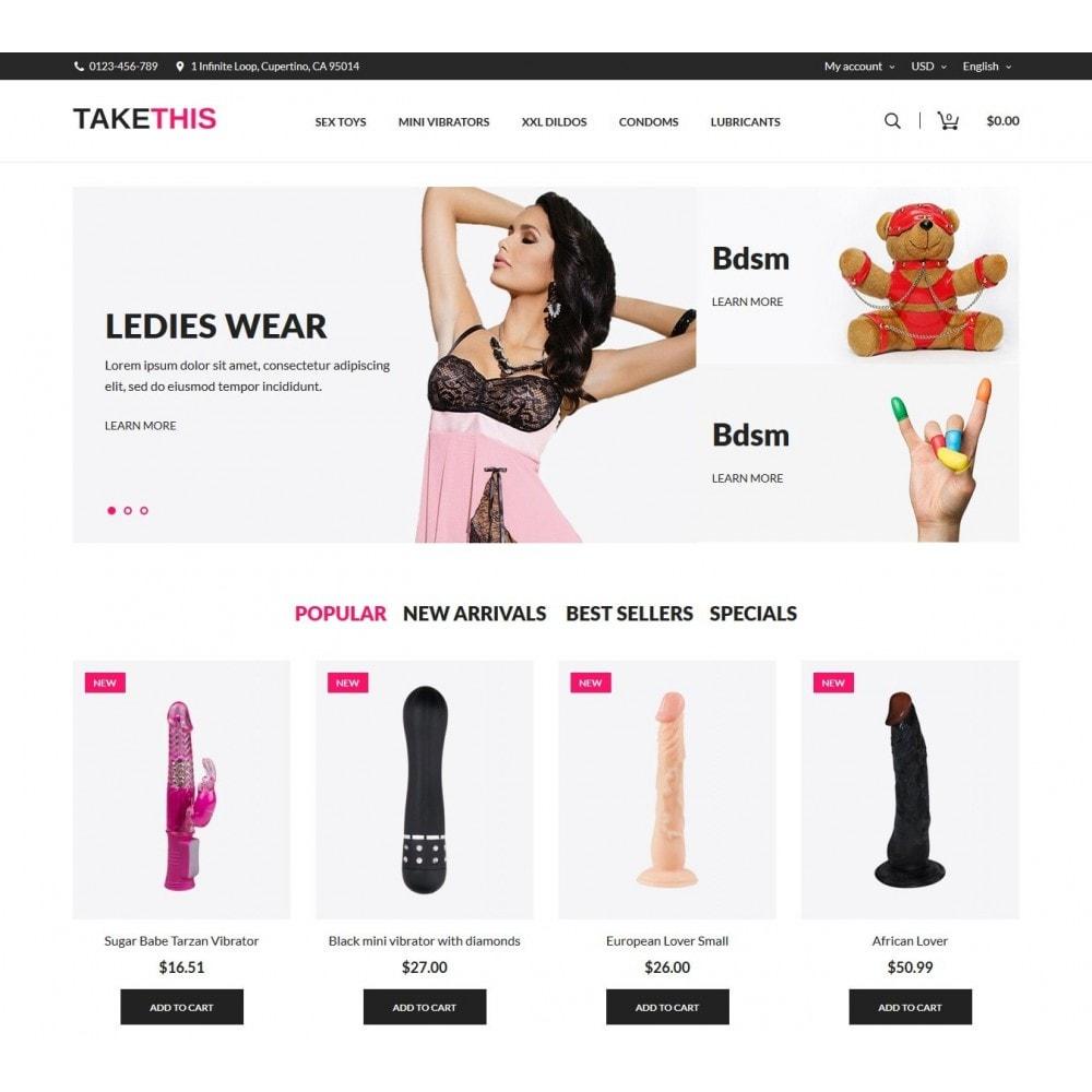 theme - Lingerie & Erwachsene - TakeThis SexShop - 2