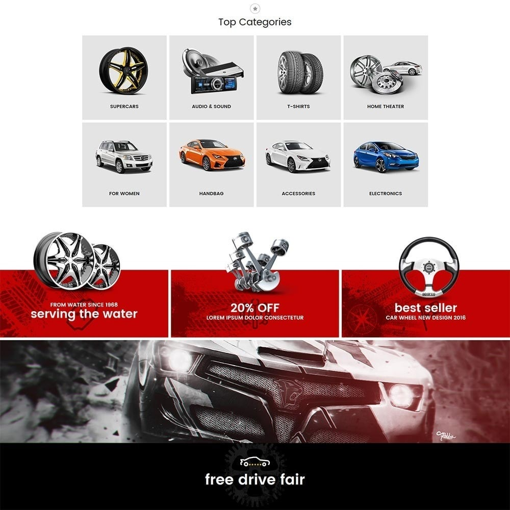 theme - Auto's & Motoren - Water Automotive & Cars - 3